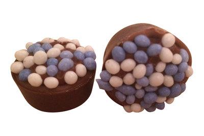Baby bonbons blauw 48 stuks