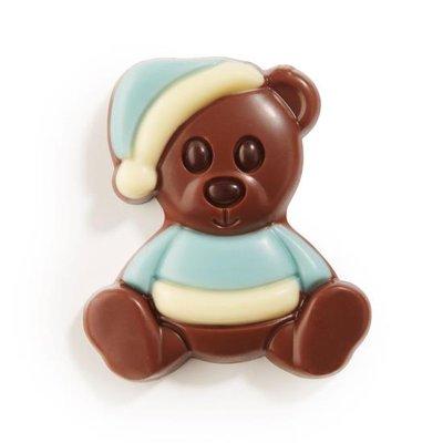 Chocolade beertjes blauw 1,5 kilo