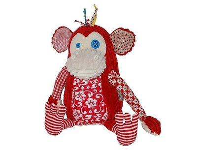Les Deglingos knuffel aap original monkey