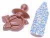 Chocolade speen en flesje blauw musket 500 gram