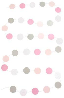 Jabadabado licht roze guirlande