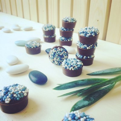 Baby bonbons blauw 500 gram