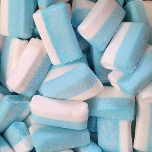 Rechthoekige spek blauw wit