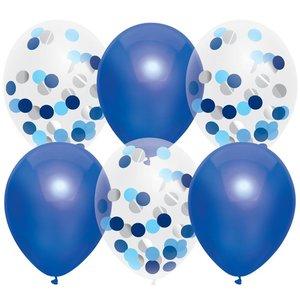 Ballonnenmix blauw