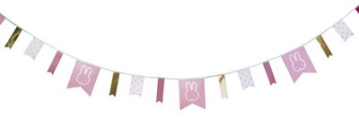 Nijntje slinger baby roze 4 meter