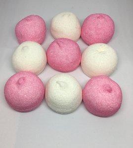 Spekbollen roze/wit 500 gram