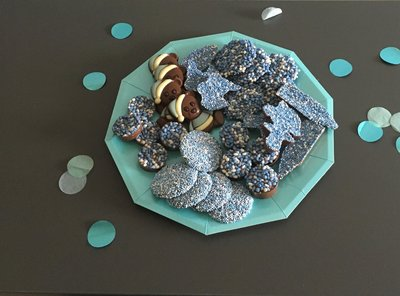 chocolade mix blauw