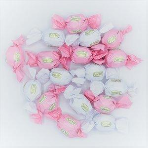 chocoladebollen wit/roze