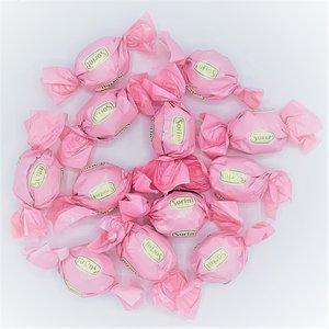 Chocolade bollen roze