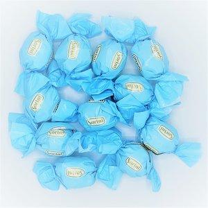 Chocolade bollen blauw