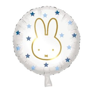 folieballon nijntje blauw