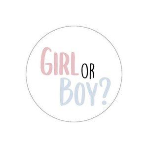 sticker boy or girl