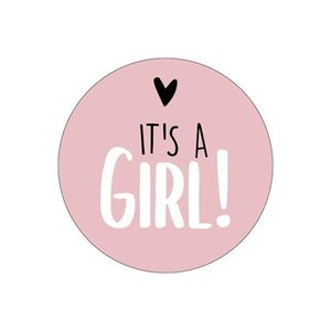 stickers its a girl oudroze