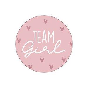 sticker team girl oudroze