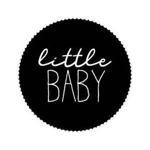 stickers zwart little baby