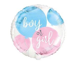 folieballon gender reveal