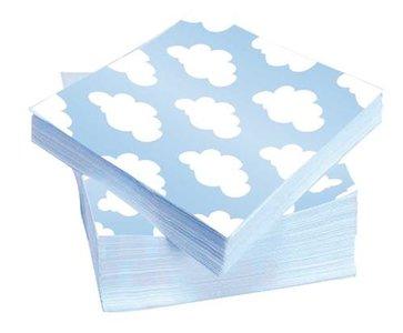 servetten wolk jongen