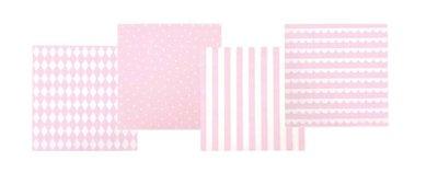 Servetten licht roze